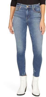 Sanctuary Social Glamour Raw Edge Ankle Jeans