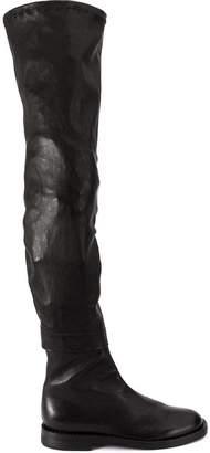 Ann Demeulemeester thigh flat boots