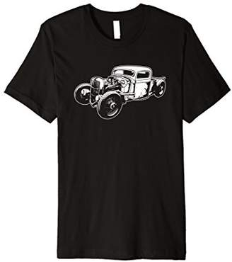 Mens Vintage Rat Rod T Shirt