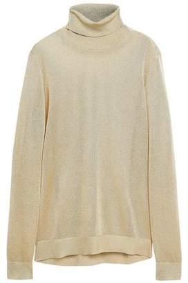 MICHAEL Michael Kors Metallic Knitted Turtleneck Sweater