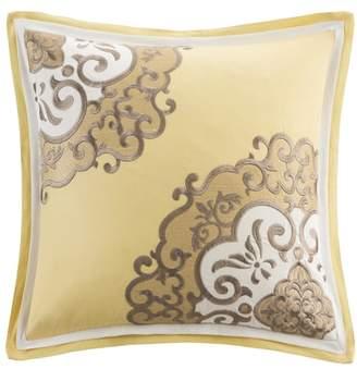 Natori N Medallion Square Pillow