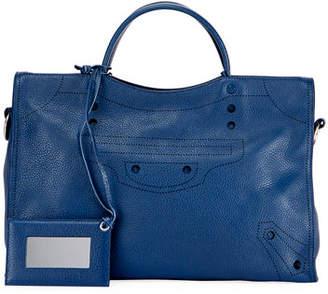 Balenciaga Blackout City AJ Shoulder Bag