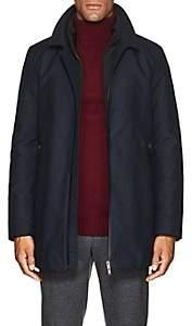 D'Avenza Men's 3-In-1 Raincoat - Navy