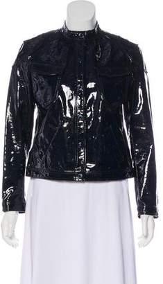 Ralph Lauren Vinyl Leather Jacket