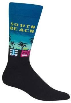 Hot Sox South Beach Crew Socks
