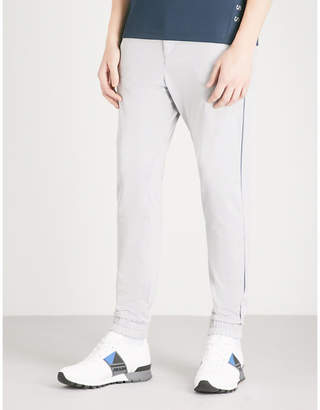 BOSS GREEN Slim-fit jersey jogging bottoms