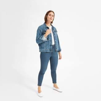 Everlane Authentic Stretch High-Rise Skinny Ankle Jean