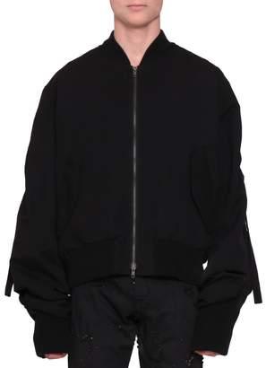 Ann Demeulemeester Oversized Bomber Jacket