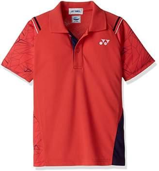 Yonex (ヨネックス) - (ヨネックス) YONEX テニスウェア ポロシャツ 10221J [ジュニア] 10221J 496 サンセットレッド J130