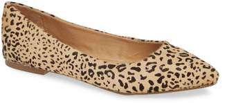Mia Zander Genuine Calf Hair Flat