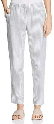 Eileen Fisher Cropped Striped Pants