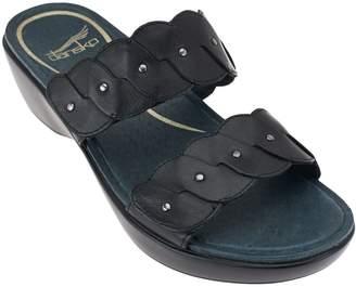Dansko Double Strap Slip-on Sandals - Dee