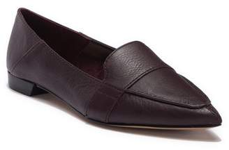 Vince Camuto Maita Pointed Toe Leather Loafer