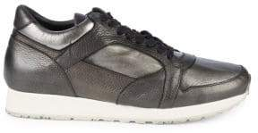 John Varvatos 315 Trainer Leather Low-Top Sneakers