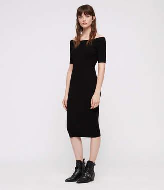 AllSaints Lavine Bandeau Dress