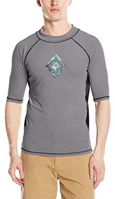Kanu Surf Men's Porta UPF 50+ Sun Protective Rashguard Swim Shirt