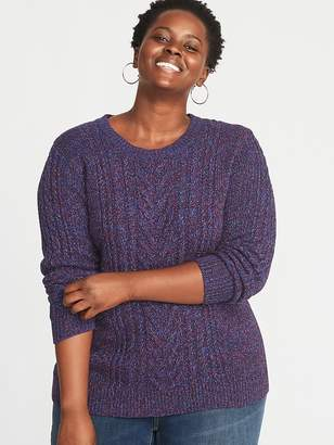 Old Navy Plus-Size Cable-Knit Sweater