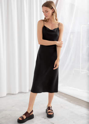And other stories Spaghetti Strap A-Line Dress