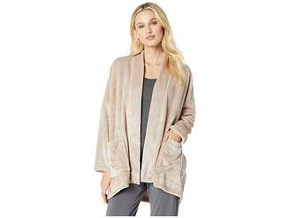 Natori N by Cashmere - Feel Frosted Fleece Topper