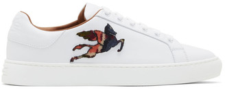 Etro White Embroidery Sneakers