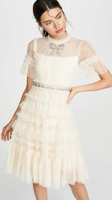 Needle & Thread Embellished Bow Dress