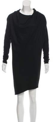 Helmut Lang Dolman Sleeve Cowl Neck Dress w/ Tags