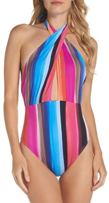 Women's La Blanca Horizon One-Piece Swimsuit $129 thestylecure.com