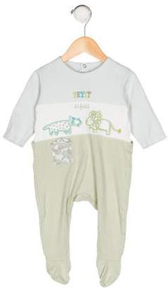 Catimini Girls' Embroidered All-In-One