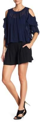 Rachel Roy Pleated Shorts
