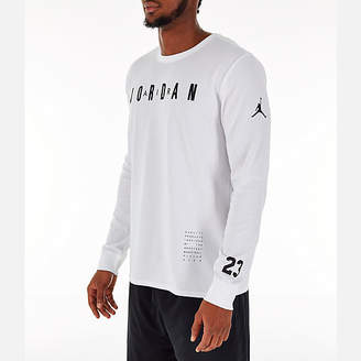 Nike Men's Air Jordan Basketball Long-Sleeve T-Shirt