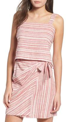 BP Stripe Linen Blend Tank Top
