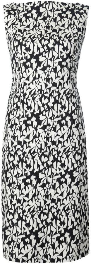 Paule KaPaule Ka floral print fitted dress