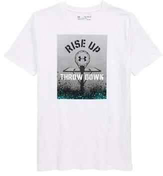 Under Armour Rise Up Throw Down HeatGear(R) T-Shirt