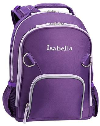 Pottery Barn Kids Fairfax Solid Purple Lunch Bag