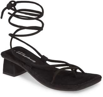 Jeffrey Campbell Kaine Wraparound Tie Sandal