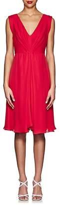 Giorgio Armani WOMEN'S SILK PLEATED DRESS