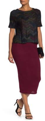 Couture Go Basic Knit Maxi Skirt