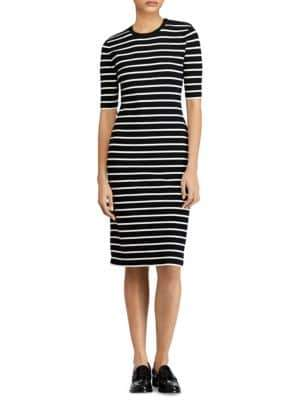 Polo Ralph Lauren Stripe Sweater Dress