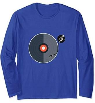 Vinyl Records Rule Long Sleeve Shirt
