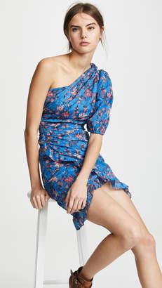 Etoile Isabel Marant Esther One Shoulder Dress