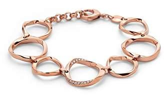 Fossil Women's Rose Gold Bracelet JF01300791