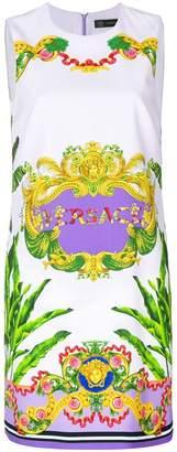 Versace signature printed dress