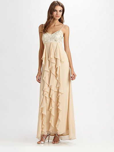 Sue Wong Tiered Gown