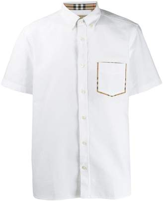 Burberry short sleeve shirt