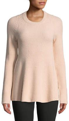 Jason Wu GREY Merino Wool Trapeze Sweater