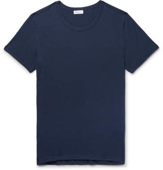 Schiesser Lorenz Slim-Fit Stretch Cotton and Modal-Blend T-Shirt