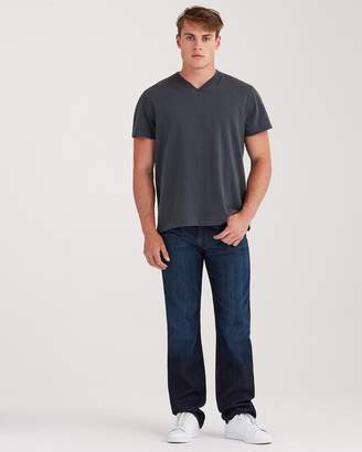 7 For All Mankind Austyn Relaxed Straight in Los Angeles Dark (Long Inseam)