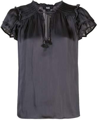 Paige flutter sleeve blouse