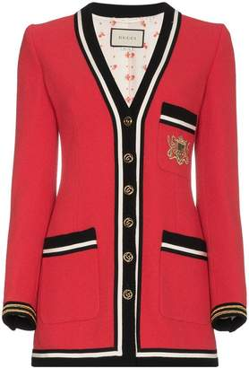 Gucci Wool Sablé Military Jacket
