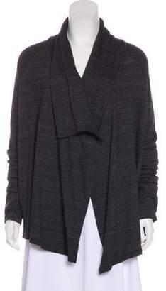 Splendid Draped Long Sleeve Cardigan